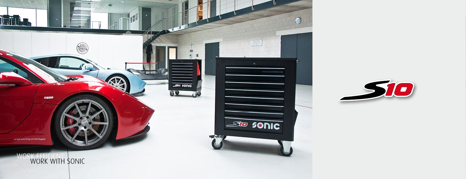 Sonic Werkstattwagen S10