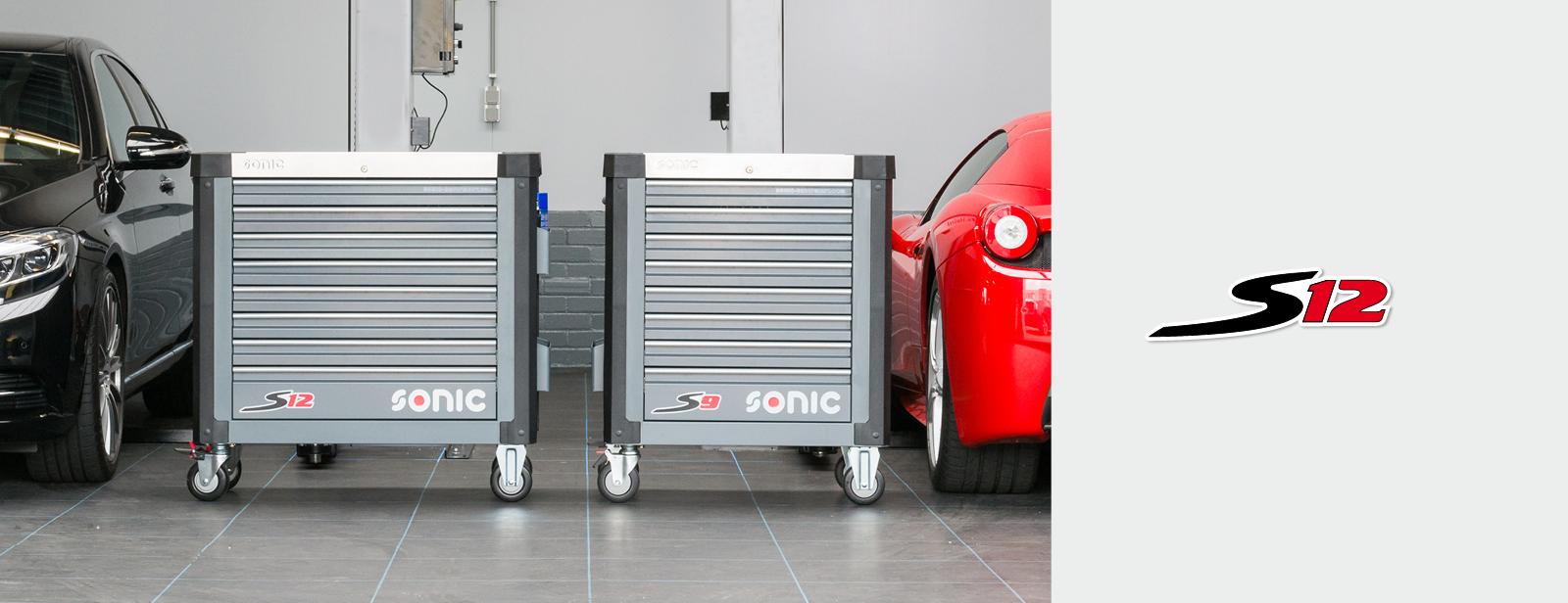 Sonic Werkstattwagen S12