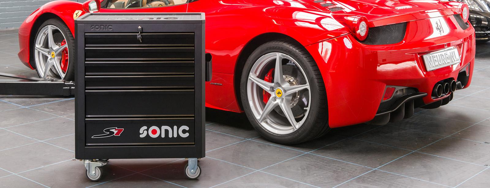 Sonic Werkstattwagen S7