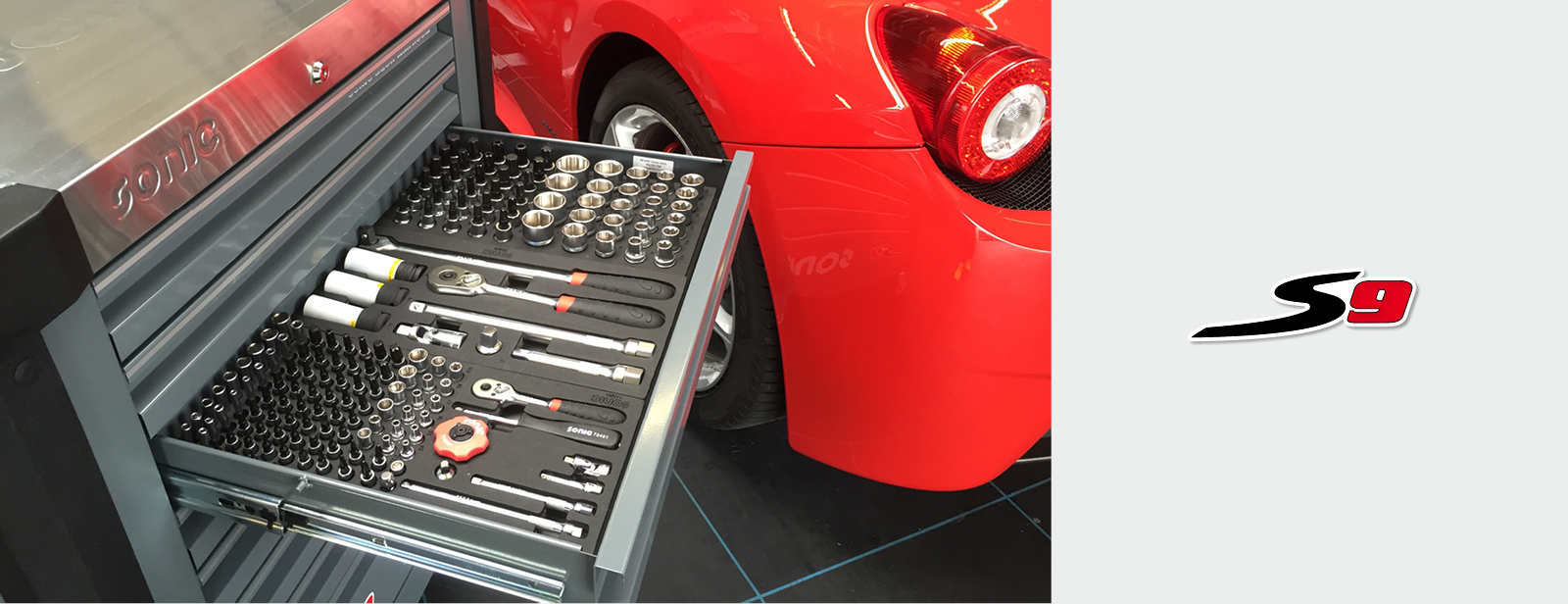 Sonic Werkstattwagen S9