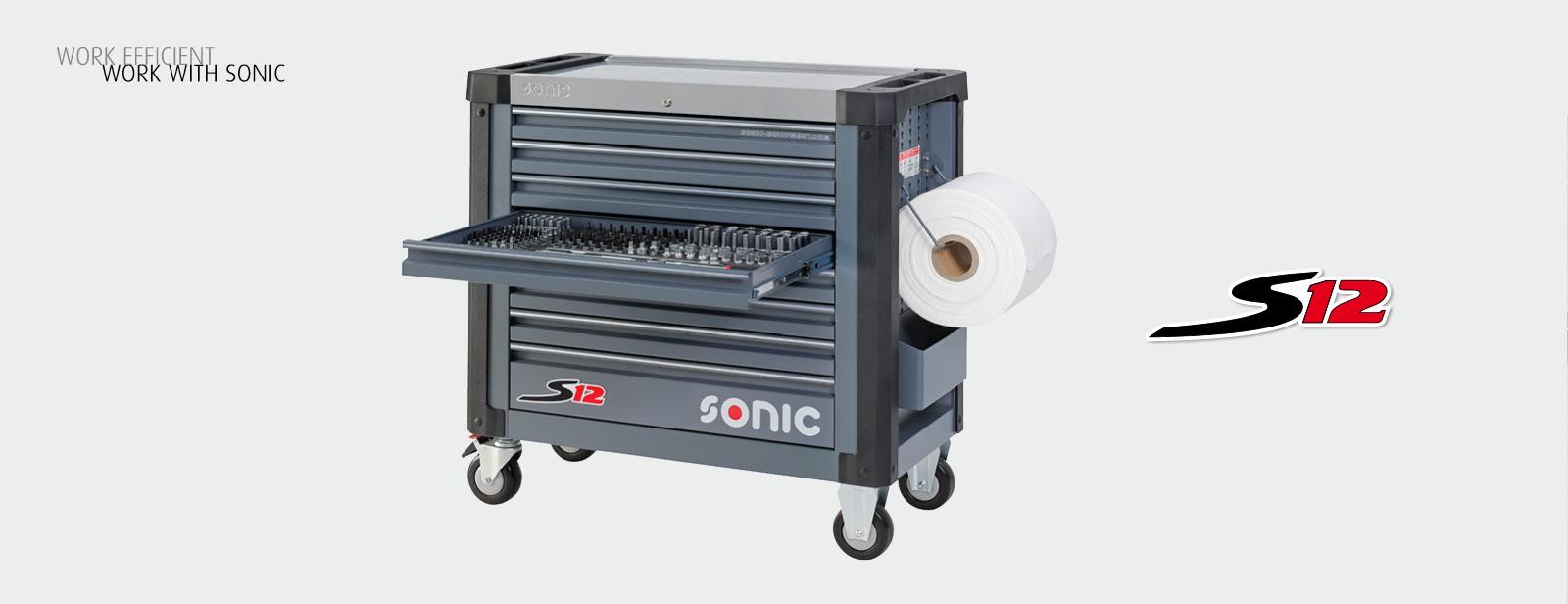 Sonic Werkzeugwagen S12