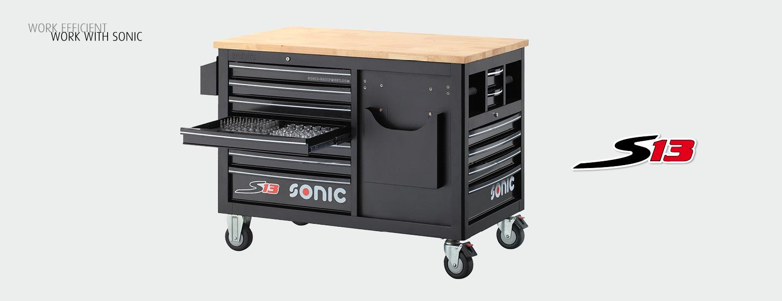 Sonic Werkzeugwagen S13