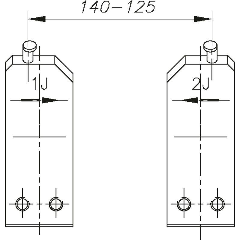 GEDORE E-8005 Ersatzspitze 5 J